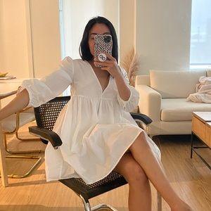 Aritzia Sunday Best White Dress